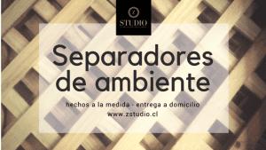Separadores de Ambiente Artesanales en La Serena